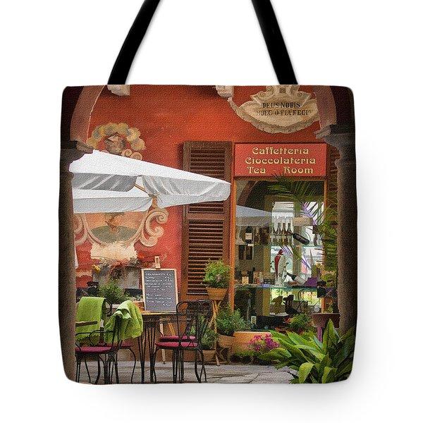 Caffeteria Orta San Guilio Tote Bag