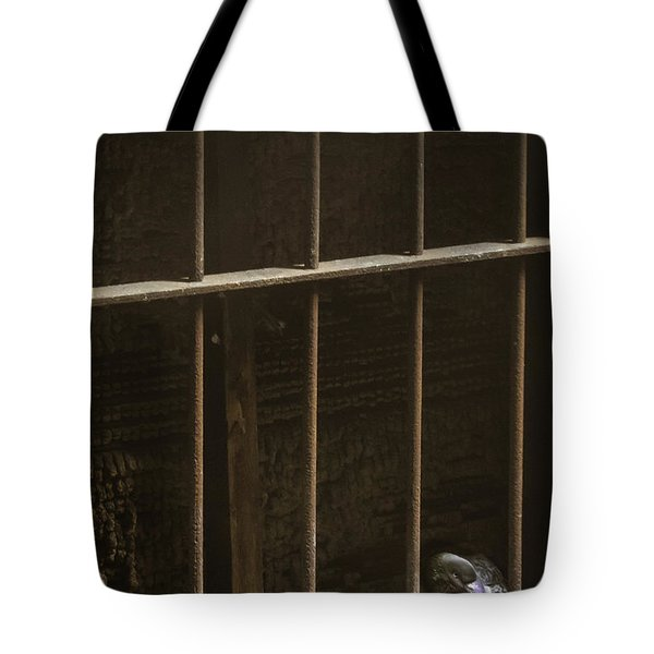 Caged Tote Bag by Margie Hurwich