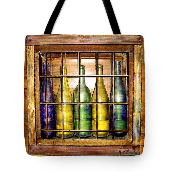 Caged Spirits Tote Bag