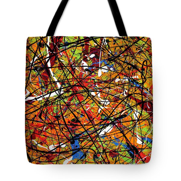 Cagey Cretins Tote Bag by Ric Bascobert