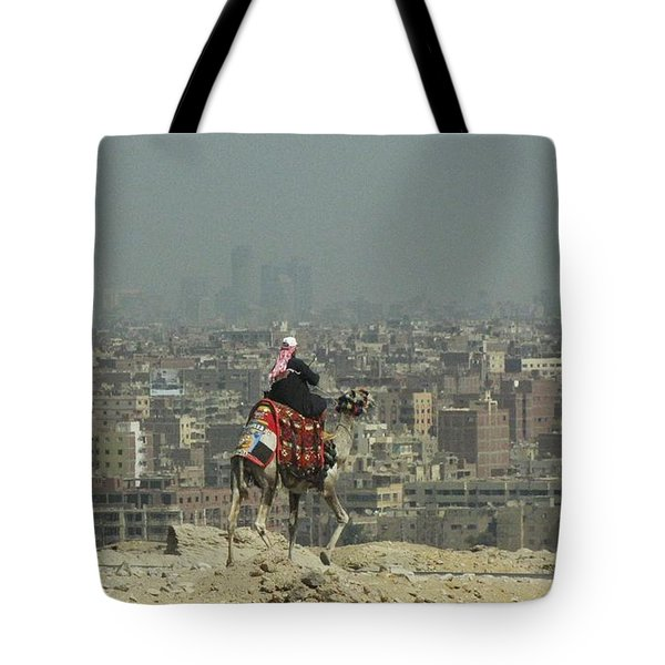 Cairo Egypt Tote Bag by Jennifer Wheatley Wolf