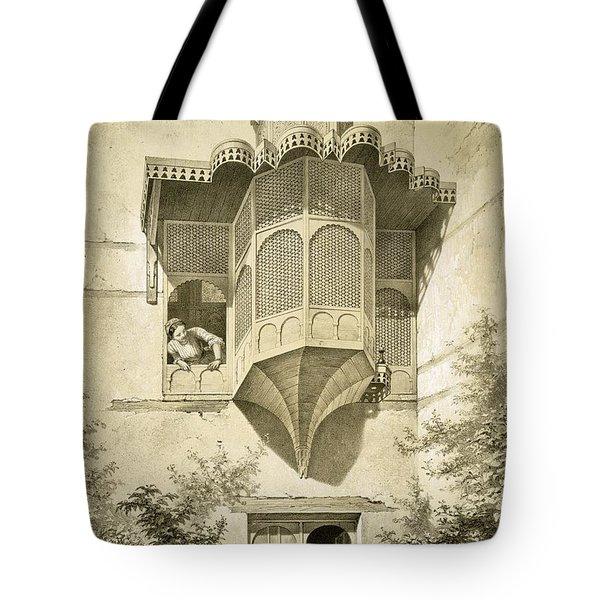 Cairo House Called Beyt El-emyr , 19th Tote Bag