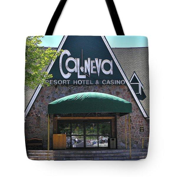 Cal Neva - Lake Tahoe Tote Bag