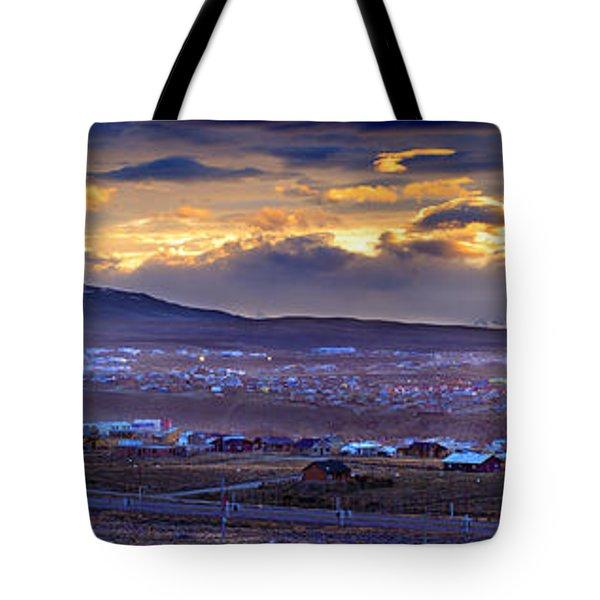 Calafate Panoramic Tote Bag by Bernardo Galmarini