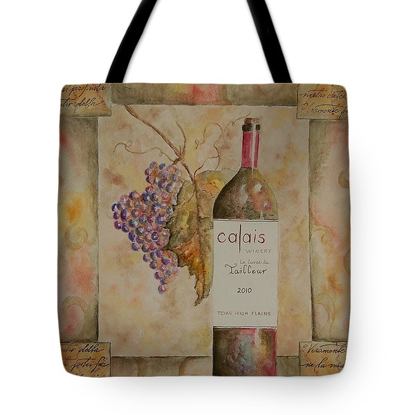 Calais Vineyard Tote Bag