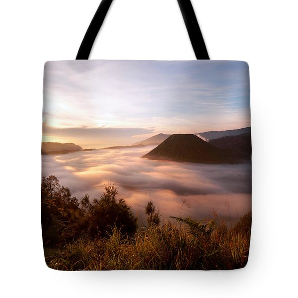 Caldera Sunrise Tote Bag