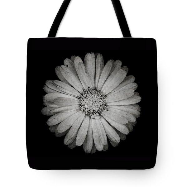 Calendula Flower - Textured Version Tote Bag by Laura Melis