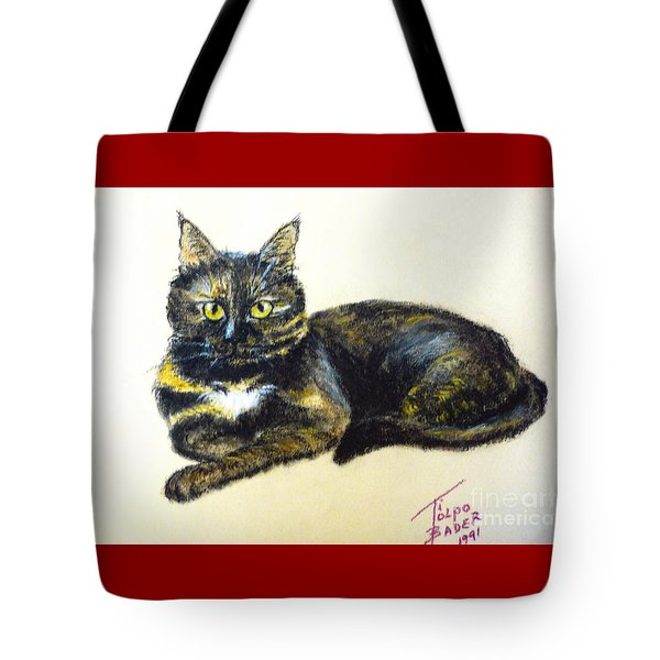 Fifi Girl Tote Bag