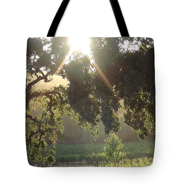 Tote Bag featuring the photograph Cali Lite by Shawn Marlow