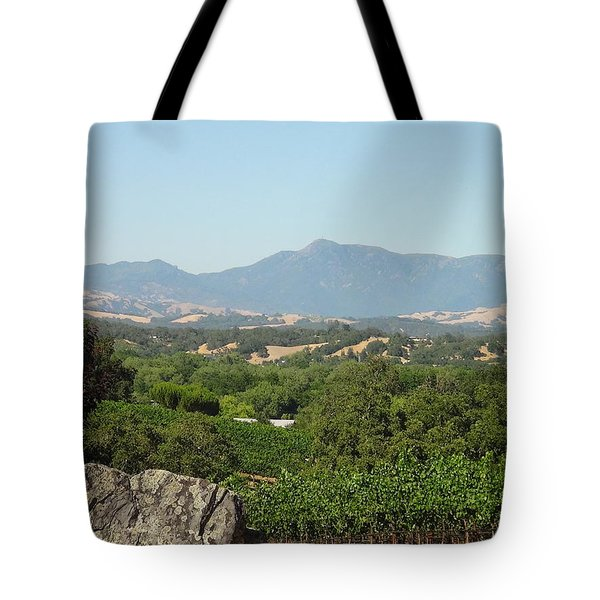 Tote Bag featuring the photograph Cali View by Shawn Marlow