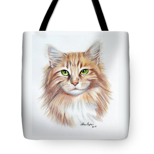 Calico Cat Tote Bag
