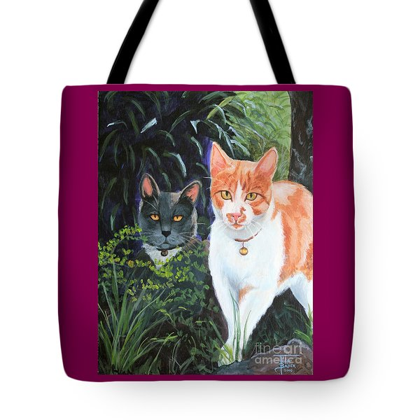 Califorian Cats Tote Bag