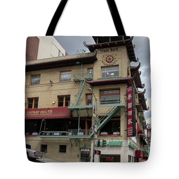 California At Grant Tote Bag by Guy Whiteley