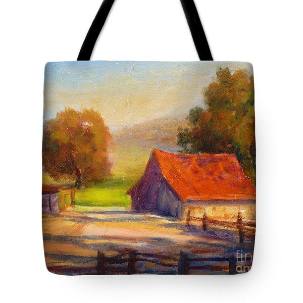 California Barn Tote Bag