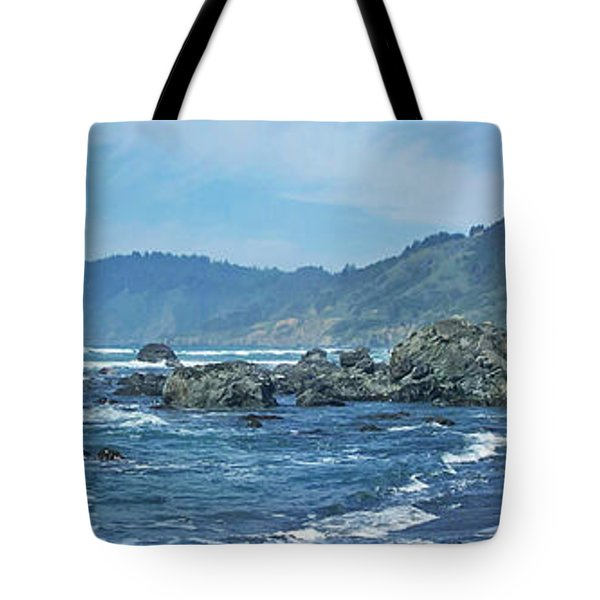 California Beaches 3 Tote Bag