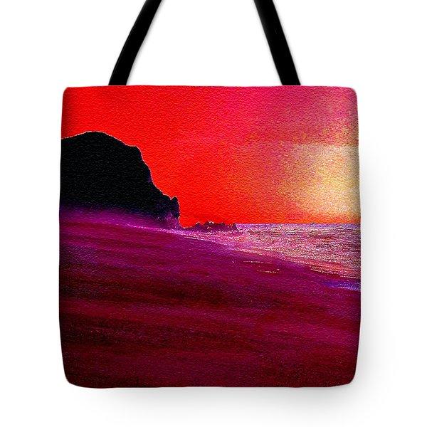 California Beaches Tote Bag
