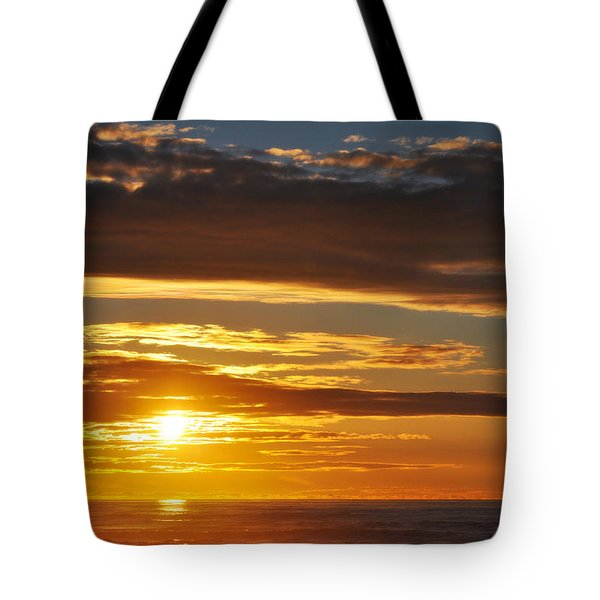 Tote Bag featuring the photograph California Central Coast Sunset by Kyle Hanson