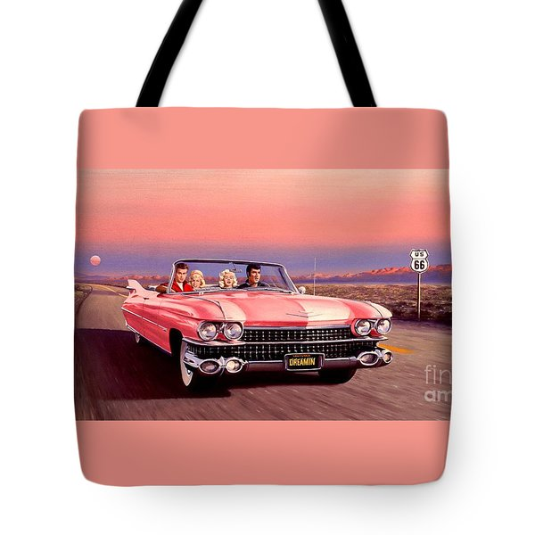 California Dreamin' Tote Bag by Michael Swanson