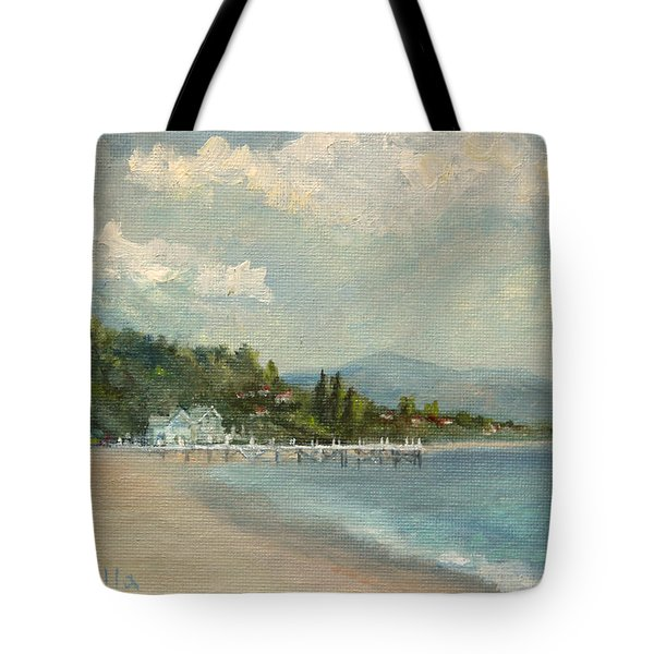 California Dreamin' On Such A Winter's Day Tote Bag
