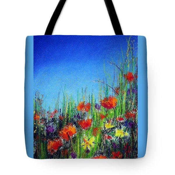 California Dreaming Tote Bag by Jodie Marie Anne Richardson Traugott          aka jm-ART