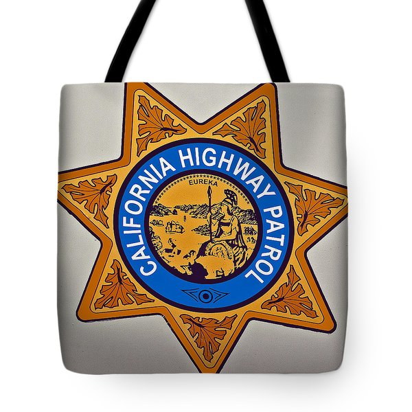 California Highway Patrol Tote Bag
