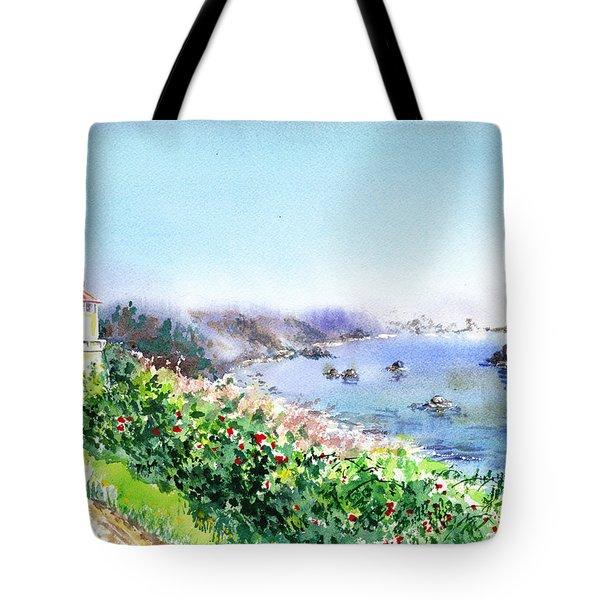 Lighthouse Trinidad California Tote Bag