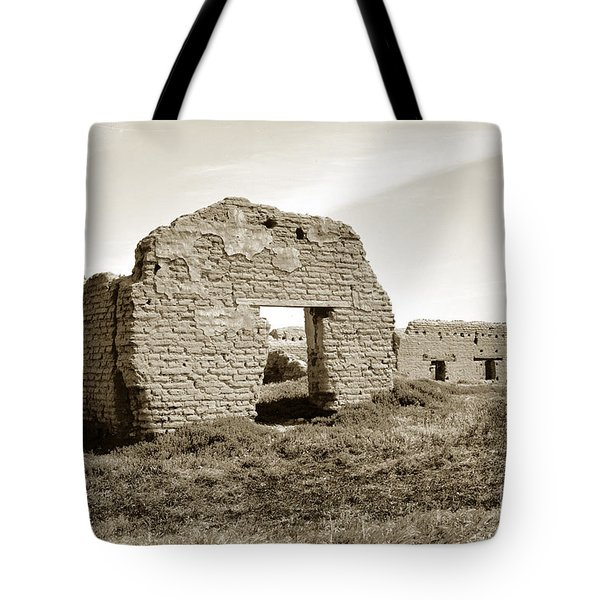 Soledad  California Mission  Monterey Co. Circa 1900 Tote Bag