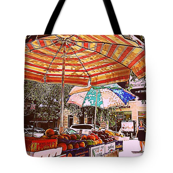 California Oranges Tote Bag by Miriam Danar
