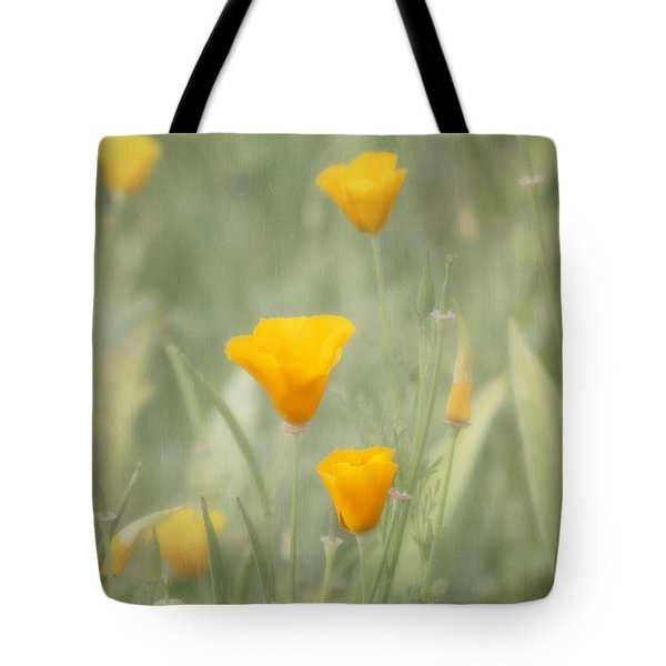 California Poppies Tote Bag by Kim Hojnacki