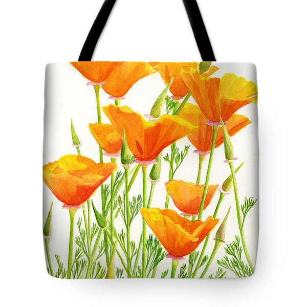 California Poppies Tote Bag by Sharon Freeman