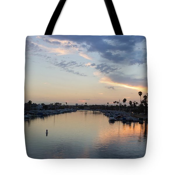 California Sunset Tote Bag by Heidi Smith