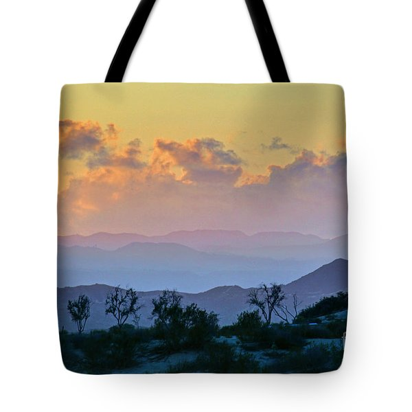 Tote Bag featuring the photograph California Sunset by Martin Konopacki