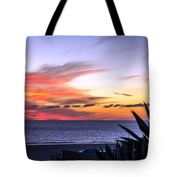 California Sunset Tote Bag by Mike Ste Marie