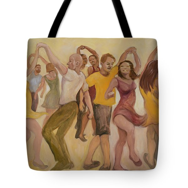 California Twirl Tote Bag