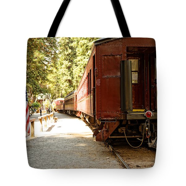 California Western Railroad Tote Bag