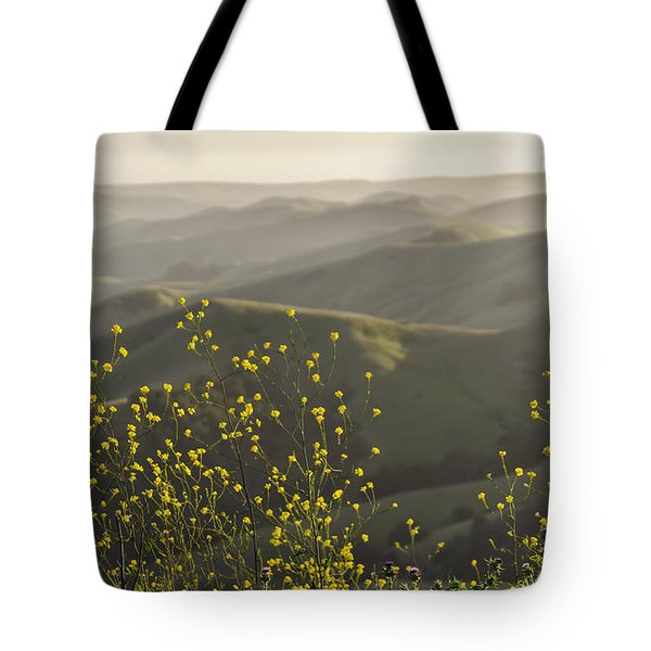 Tote Bag featuring the photograph California Wildflowers by Steven Sparks