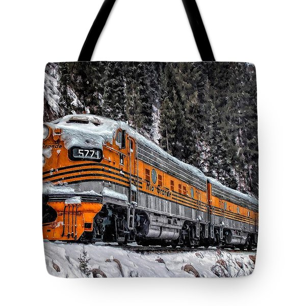 California Zephyr Tote Bag