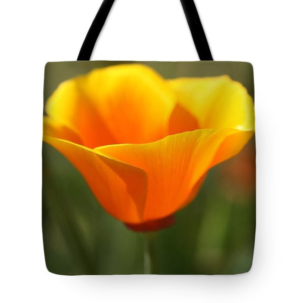 Tote Bag featuring the photograph Californian Poppy by Joy Watson