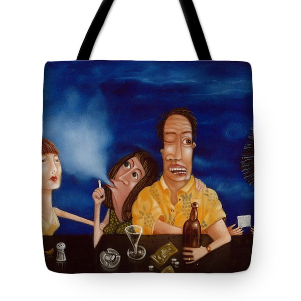 Call Me 1995 Tote Bag by Larry Preston