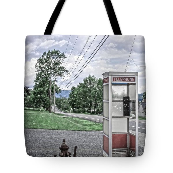 Call Me When You Get There Tote Bag by Edward Fielding