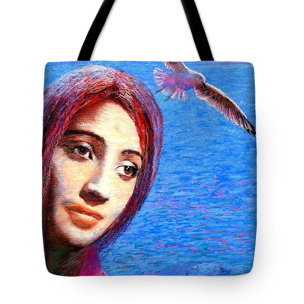 Call Of The Deep Tote Bag by Jane Small