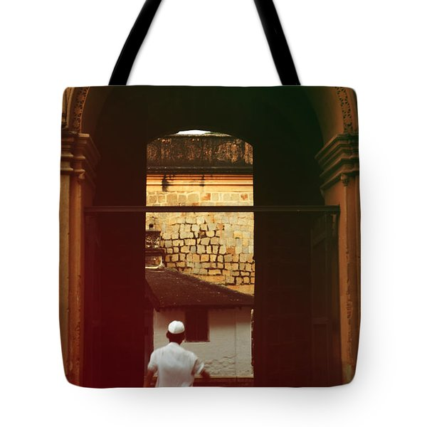 Tote Bag featuring the photograph Call To Prayer by Mini Arora