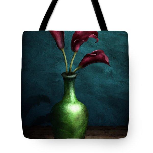 Calla Lilies I Tote Bag