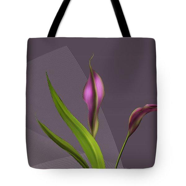 Calla Lillies Tote Bag