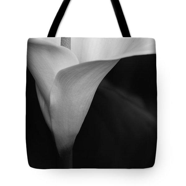 Calla Lily Corner Tote Bag