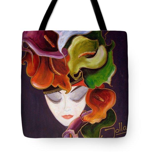 Calla Lily Dame.. Tote Bag