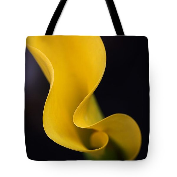 Tote Bag featuring the photograph Calla Lily by Joy Watson