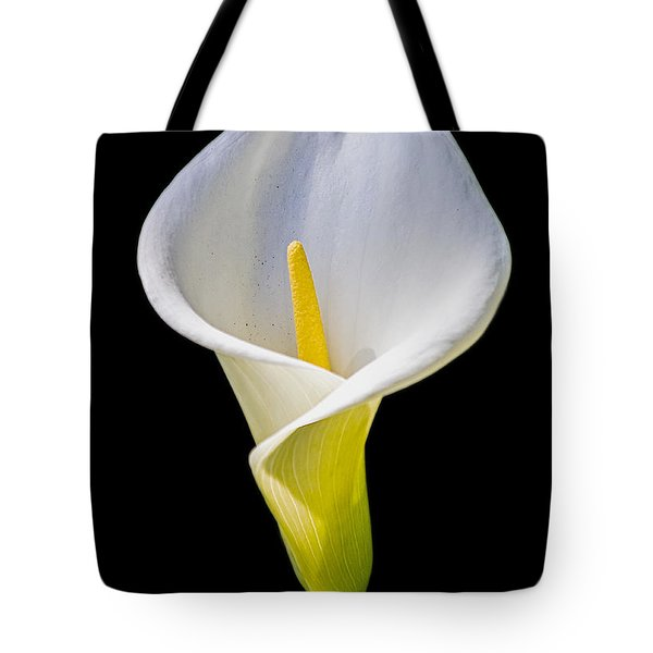 Tote Bag featuring the photograph Calla Lily by Kate Brown