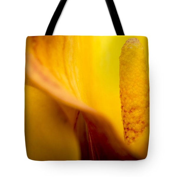 Tote Bag featuring the photograph Calla Lily by Sebastian Musial