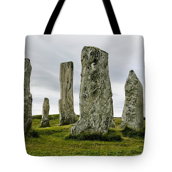 Callanish Standing Stones Tote Bag by Toby Adamson